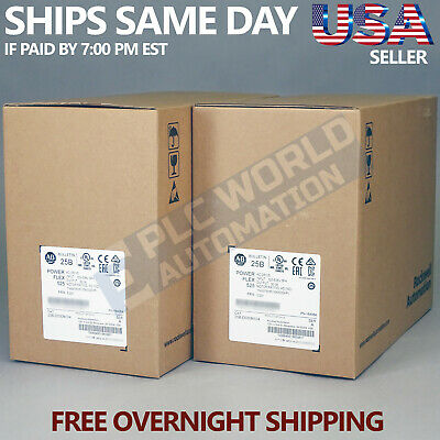 2017 New Factory Sealed Allen Bradley 25B-D030N104 /a Ac Drive Free Next Day Air