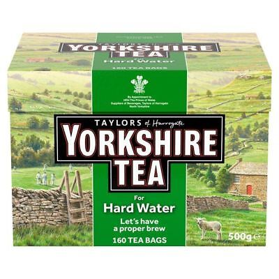 Yorkshire Hardwater Teabags 160 per pack