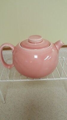 Vintage W S  George Pink TeaPot 131a