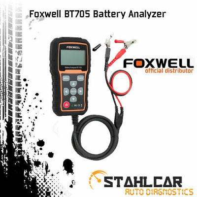 Foxwell BT705 Battery Analyzer 12V 24V AGM CCA Tester