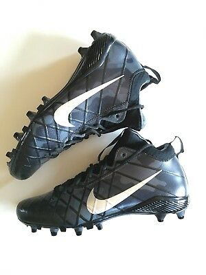e65cd542c NEW NIKE FIELD General 3 Elite TD Mid Mens Football Cleats   Black ...