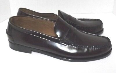 f062e49d7e4 Florsheim Men s Berkley Moc Toe Penny Loafer 17058-05 Burgundy 14 B Never  Worn