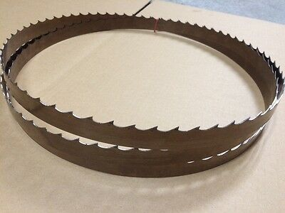 "Wood Mizer Bandsaw Blade 13'11"" 167"" x 1-1/4""  x 042 x 7/8  7° Band Saw  Blades"