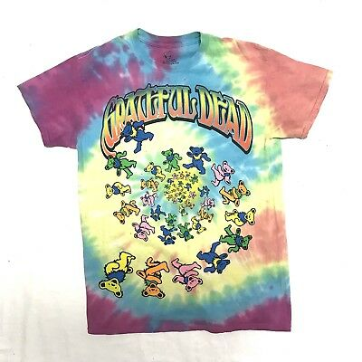 GRATEFUL DEAD Bear Kaleidoscope Tie Dye Tshirt