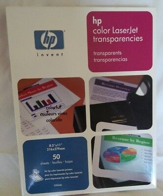 "Hewlett-Packard HP Color LaserJet Transparencies 45 Sheets 8.5"" x 11"" C2934A"