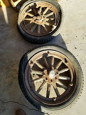 1917-1925 dodge brothers touring car wheels