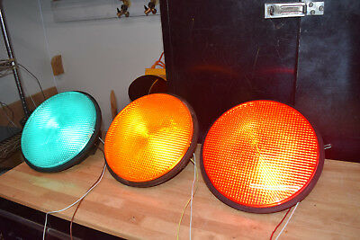 "12"" led traffic signal light modules - set of three"