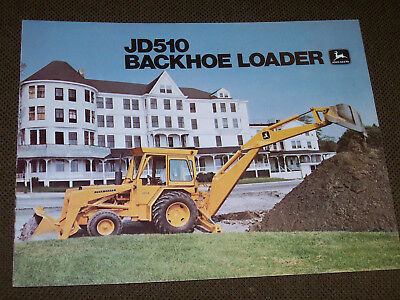 1979 John Deere JD510 Backhoe Loader Brochure