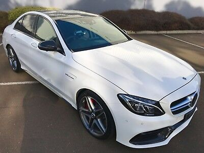 Mercedes Benz C63s AMG 2017 Highly Optioned One Owner Full 3 Years Warranty