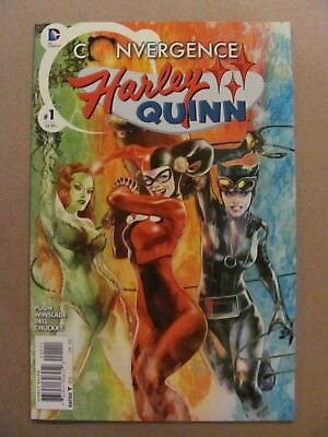 Harley Quinn Convergence #1 #2 DC 2015 Series Catwoman Poison Ivy 9.4 Near Mint