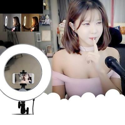 "Dimmable Diva LED Ring Light 19""/48.5cm 55W Mirror and Stand Make Up Studio Nutz"