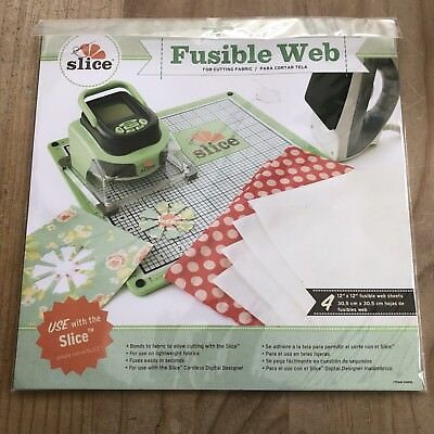 """Fusible Web For Cutting Fabric With The Slice Cordless Cutting Machine - 12"""""""