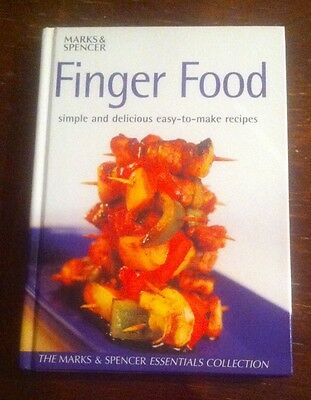 Finger food recipe book from marks spencer 400 picclick uk finger food recipe book from marks spencer forumfinder Choice Image