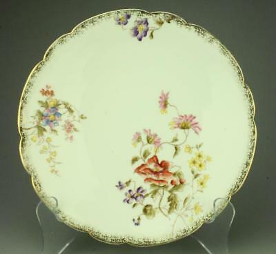 Lot of 3 Limoges M. Redon Scalloped Salad Plates TB20