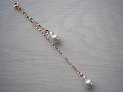 15f Dainty Clip-on Backdrop Attachment for a necklace