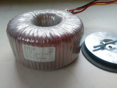 23V 300VA Toroidal Transformer 230V primary 23V 13A secondary, close to 24V, 25V