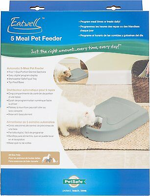 Petsafe Automatic 5 Meal Pet Feeder for Dogs & Cats - Perfect Meal Portions