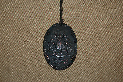 Vintage Hotel Baltimore Watch Fob or Room Key Fob, Kansas City