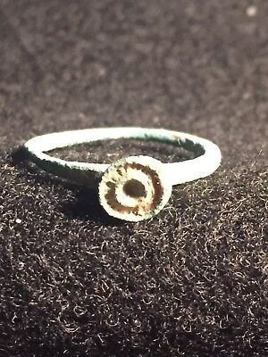 Ancient Roman Rings, Circa 1st-2nd Century, AD. Bronze,intact Ring, Nice Patina