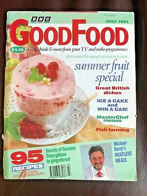 Bbc good food magazine book 101 christmas dishes paperback unread vintage bbc good food magazine july 1991 summer fruit special forumfinder Gallery