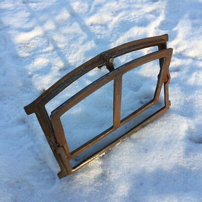 Small Iron Window to Open - Barn Window Window Wall Ruins Stall