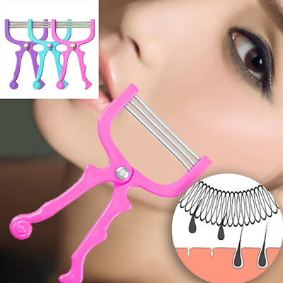 3 Spring Threading Removal Epilator Epicure Facial Hair Remover Tool Face Beauty