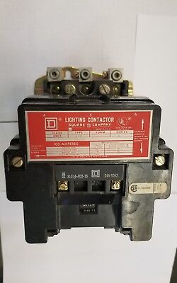 8903-Sqg2 Square D 100 Amp Lighting Contactor
