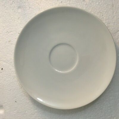 BLOCK Ionia Greece Athens White Coffee Saucers ~ REPLACEMENTS