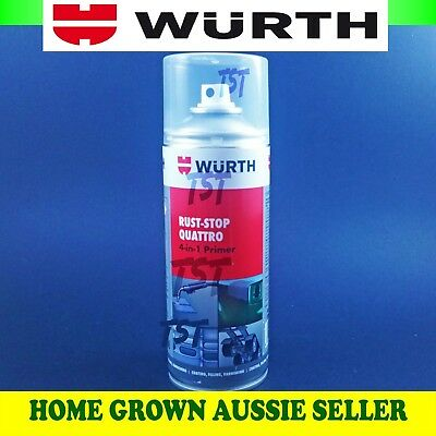 Wurth Rust-Stop Quattro 4 In 1 Primer, Adhesion, Corrosion, Weld + Free Gloves