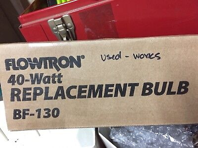 Flowtron bf-150 40 Watt Replacement Bulbs Used