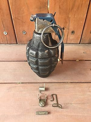 REPLICA VINTAGE PINEAPPLE Grenade WITH SPRING KITS / LATCH SHIPS FREE
