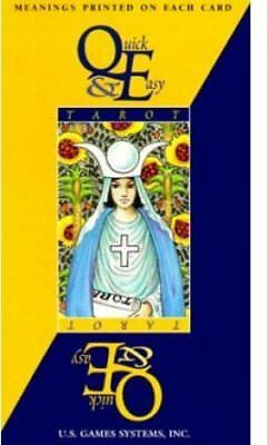 Quick and Easy Tarot Deck by Ellen Lytle 9781572812444