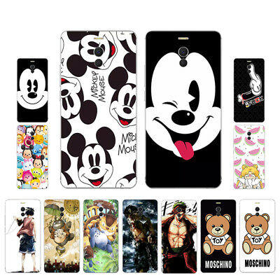 Soft TPU Silicone Case For Meizu M6 Note Protective Phone Back Cover Skins Mouse