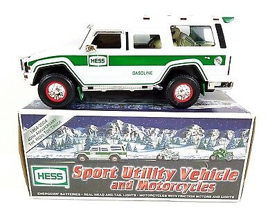 2004 HESS NIB Sport Utility Vehicle and Motorcycles 40th Anniversary