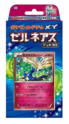 Pokemon card game XY Zernius Deck 30/30cards/expansion pack 1/free shipping
