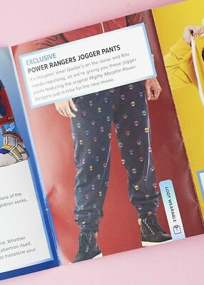 Power Rangers (LARGE) Pants Loot Crate Wear Comfy Pajamas Sweats Jogger Lounge