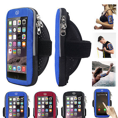 "6.2"" Sports Armband Phone Arm Bag Waterproof Pouch for iPhone X 8 7 6S 6 Plus"