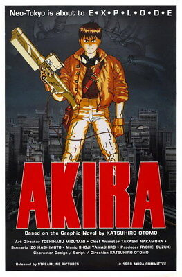 "006 Akira - Red Fighting Hot Japan Anime 24""x36"" Poster"