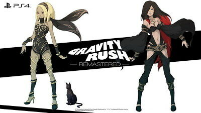 "009 Gravity Rush 2 - Action Fight Game 42""x24"" Poster"