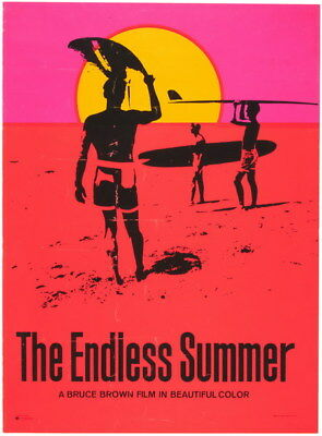 """006 THE ENDLESS SUMMER - USA Classic Movie 24""""x32"""" Poster"""