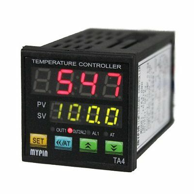 MYPIN TA4-RNR Dual Display Digital PID F/C Temperature Controller Alarm Output