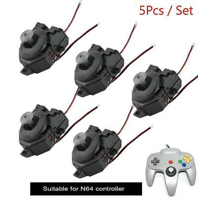 5Pcs/Set Thumbsticks 3D Joystick Analog Replacement for Nintendo N64 Controller