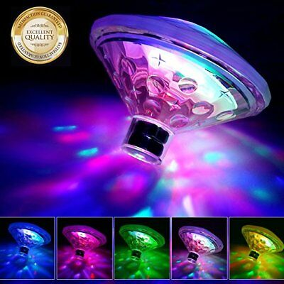 Underwater Floating Disco LED Lights Swimming Pool Lighting 7 Mode Tub Spa Lamps