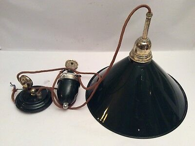 Vintage Weighted Ceiling Light