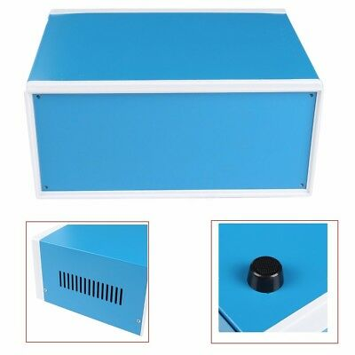 US Electronic Project Enclosure Power Junction DIY Box Case Blue 250x190x110mm