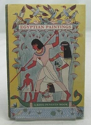 Egyptian Paintings Nina Davies 1St Ed/dw King Penguin Book Ancient Egypt Vintage