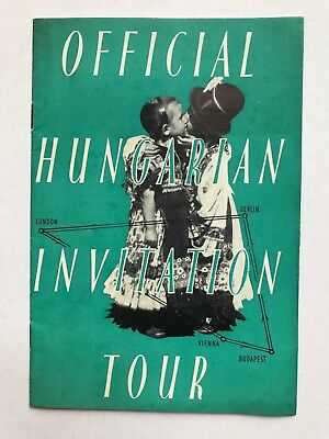 Hungarian Invitation Tour Brochure   ref054
