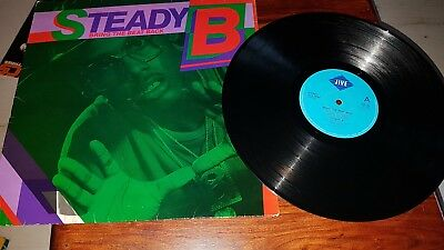 Steady B Bring The Beat Back Hip Hop Vinyl Rap Old School Lp Classic