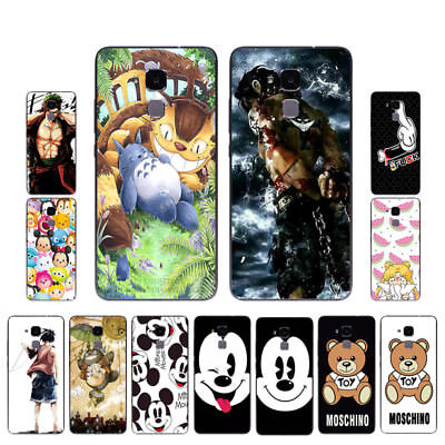 "5.2"" Soft TPU Silicone Case For Huawei Honor 7 Lite 5C GT3 Back Cover Skin Mouse"