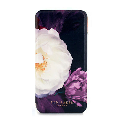 Ted Baker® Highly Protective Mirror Folio floral Case for iPhone X / XS - Blushi